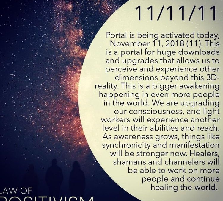 11/11/11 – Manifestation Day